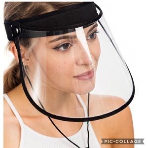 Other - Unisex Clear Face Visor - Anti Splash Anti Fog